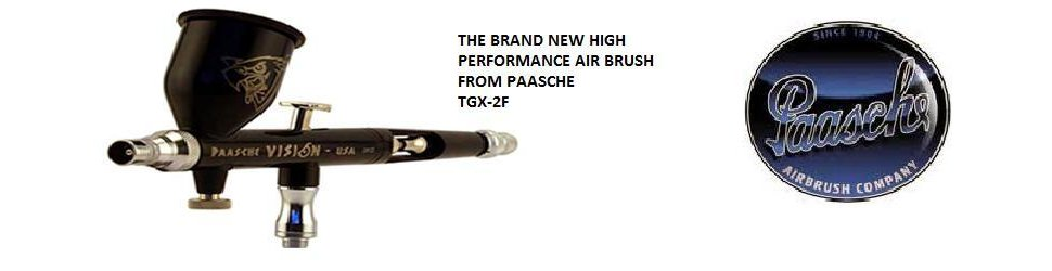 The brand new high performance air brush TGX-2F