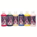 Polytranspar Water Based Airbrush Paints